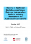 2007/709 Review of technical market access issues relevant to Australian seafood industry members of the Australian Seafood CRC