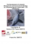 2008/723 The Development of a genetic management and improvement strategy for temperate marine finfish (Southern Bluefin Tuna, Yellowtail Kingfish and Mulloway)