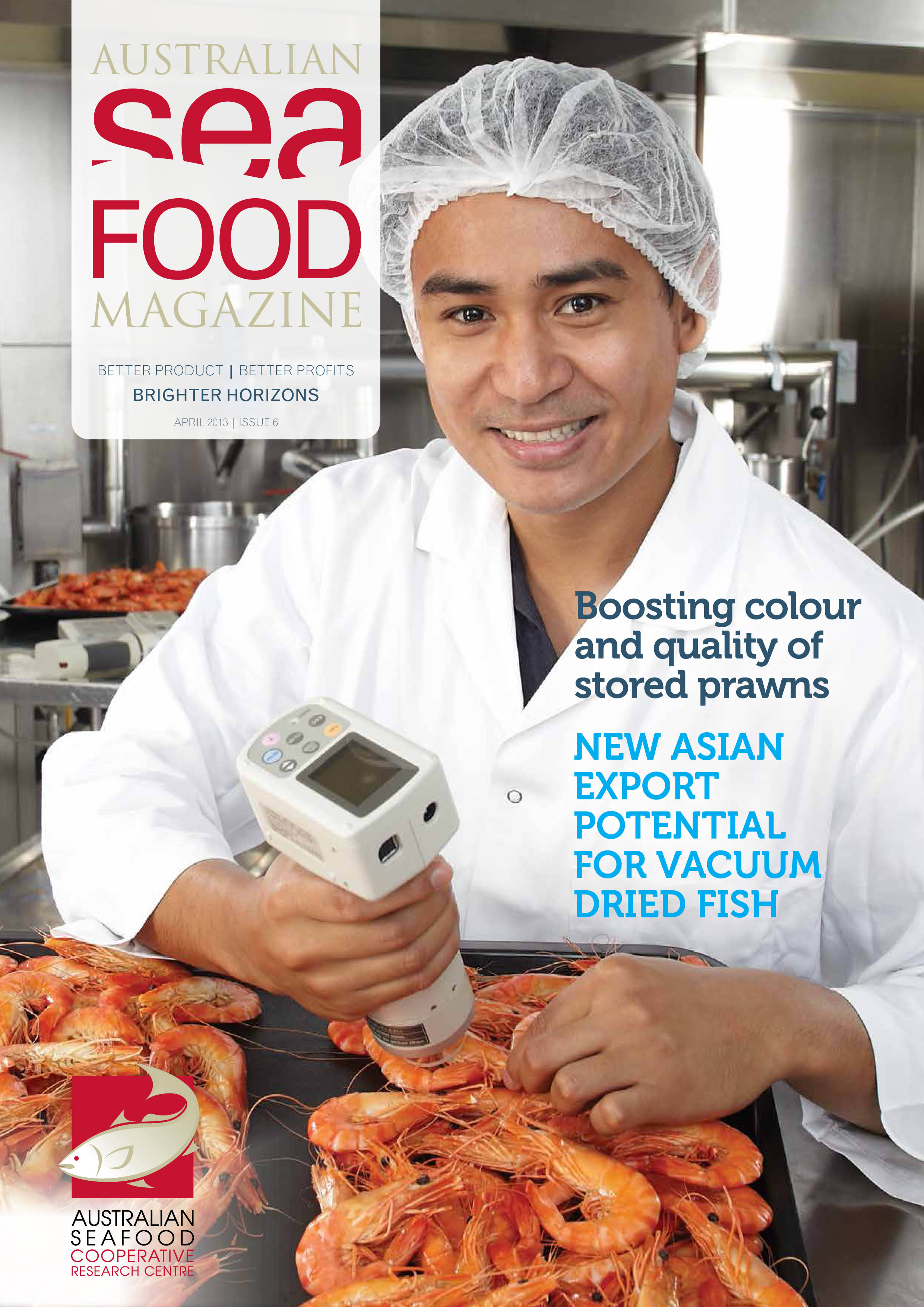May SeaFOOD Mag Front Cover